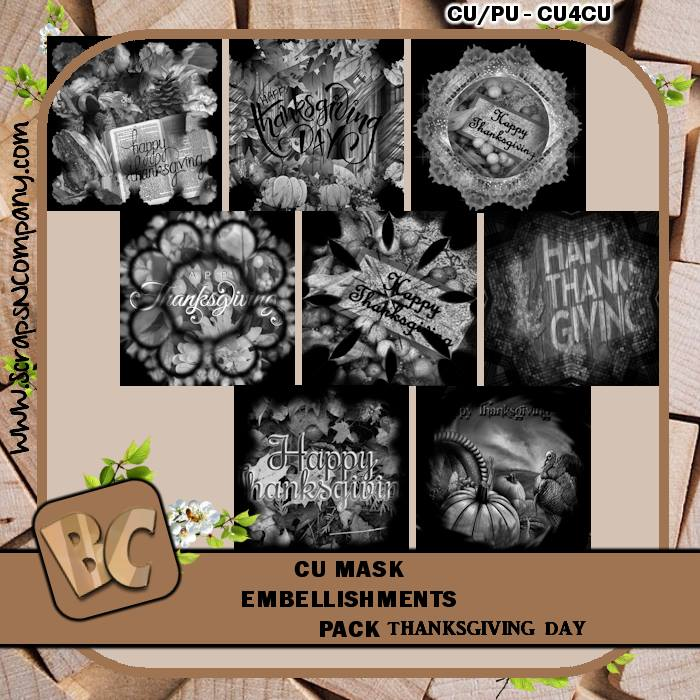 THANKSGIVING DAY 2017 MASK